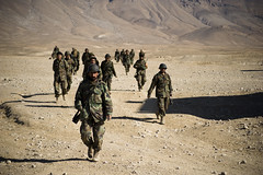 Afghan National Army Recruits Train [Image 1 of 10].