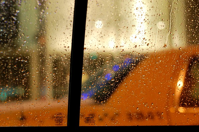Taxi snowstorm