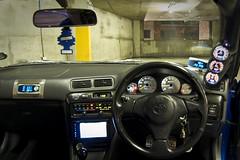 Toyota Trueno AE111 (philipmchugh) Tags: underground toyota carpark levin multistory trueno ae111