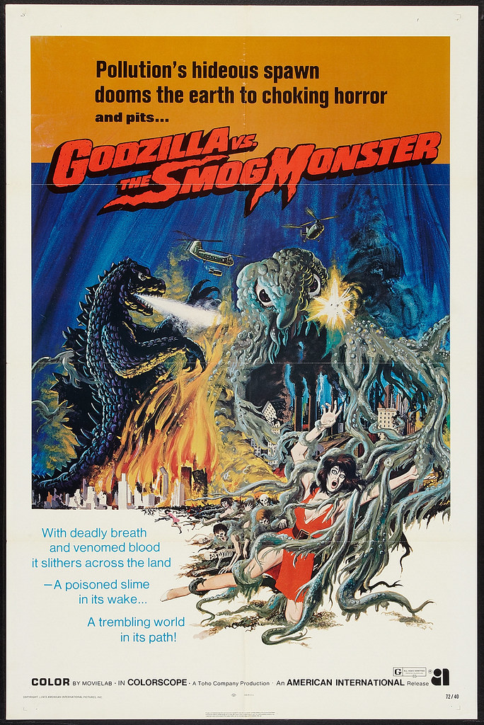 Godzilla vs the Smog Monster (American International, 1972)