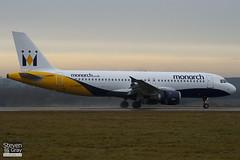 G-MONX - 392 - Monarch - Airbus A320-212 - Luton - 110106 - Steven Gray - IMG_7576