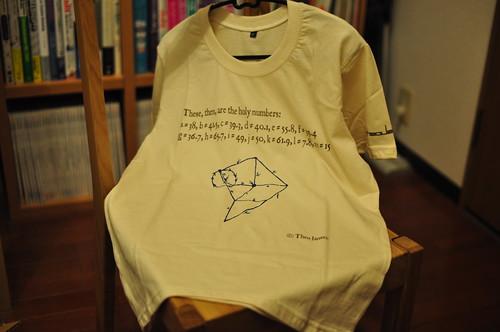 ヤンセン機構Tシャツ