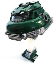 LEGO Jetson 5000 (aabbee 150) Tags: car lego craft retro 5000 luxury jetson hover hovercraft hovercar foitsop