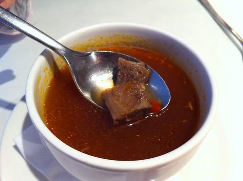 蔬菜牛肉湯