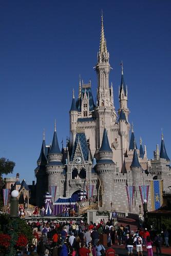 disney world orlando castle. most beautiful castle in Magic Kingdom-Disney World Orlando奥兰多迪斯尼神奇王国IMG_7365