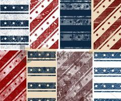 Patriotic Stripes (brushlovers) Tags: photoshop stripes patriotic brushes