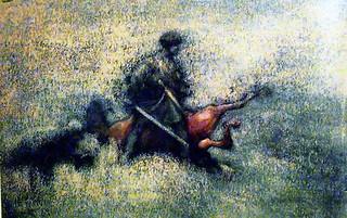 მეომარი ხევსური - Warrior khevsuri