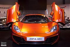 McLaren MP4-12C - Orange - Autosport Show 2011 - Birmingham NEC - 110116 - Steven Gray - IMG_8452