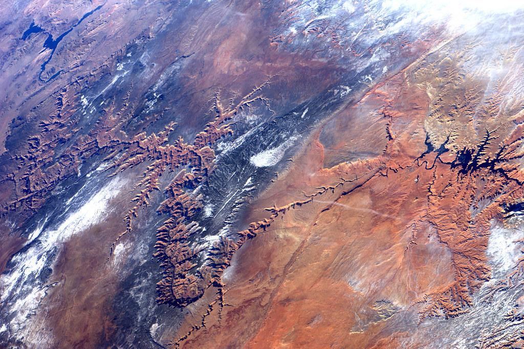 Mira lo que se ve desde el espacio - Imperdible