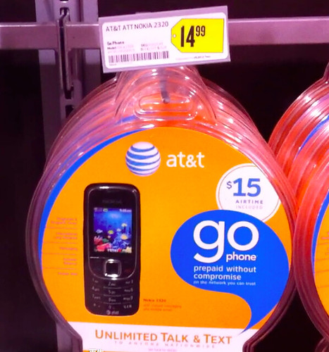 AT&T GoPhone $14.99