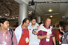 () Tags: cup asian captain conference press qatar mitso 2011 wesam      rezq