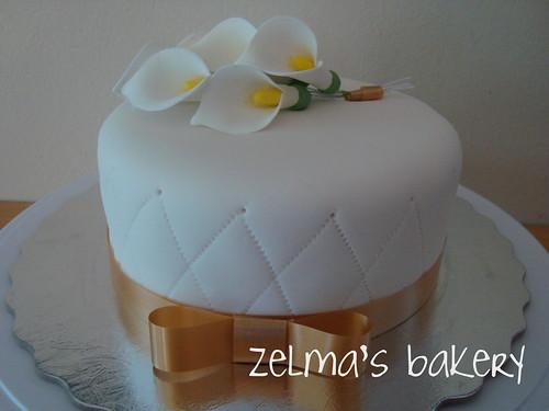 Grand Marnier Anniversary Cake