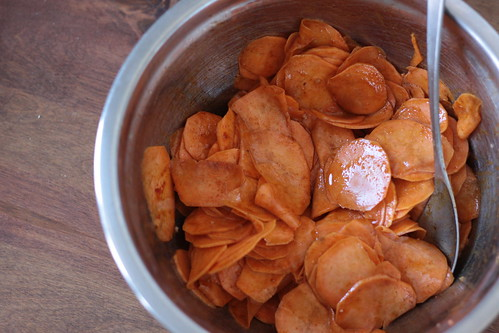 Dehydrated Spicy Bbq Sweet Potato Chips Wellpreserved