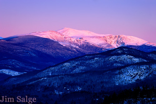 Early Glow From Jackson, NH