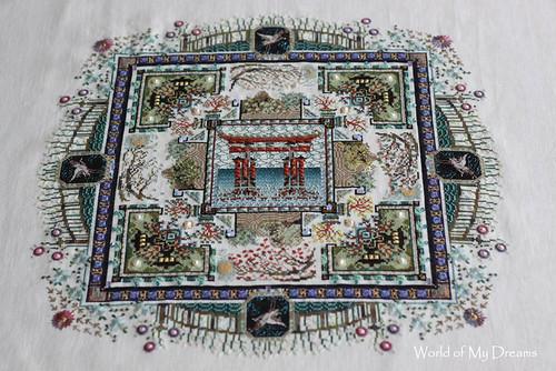 Chatelaine. Japanese Mandala Garden
