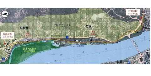 圖片來源:淡水河北側沿河平面道路工程環境影響說明書