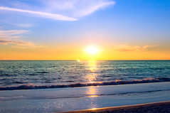 Panama City Beach (Jonathan Boothe) Tags: ocean city sunset building beach water pool sunrise golf mexico dawn hotel evening coast high nikon gulf florida getaway condo gateway fl panama nikkor dslr range hdr density gulfcoast d90 holos golfcoast