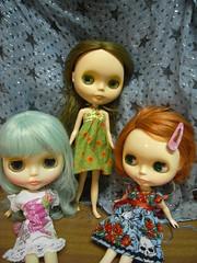 group shot - new dresses