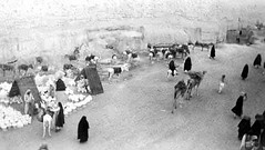 The pottery section of the Suq (alkanani) Tags: 1938 saudi arabia ksa hofuf السعودية الهفوف