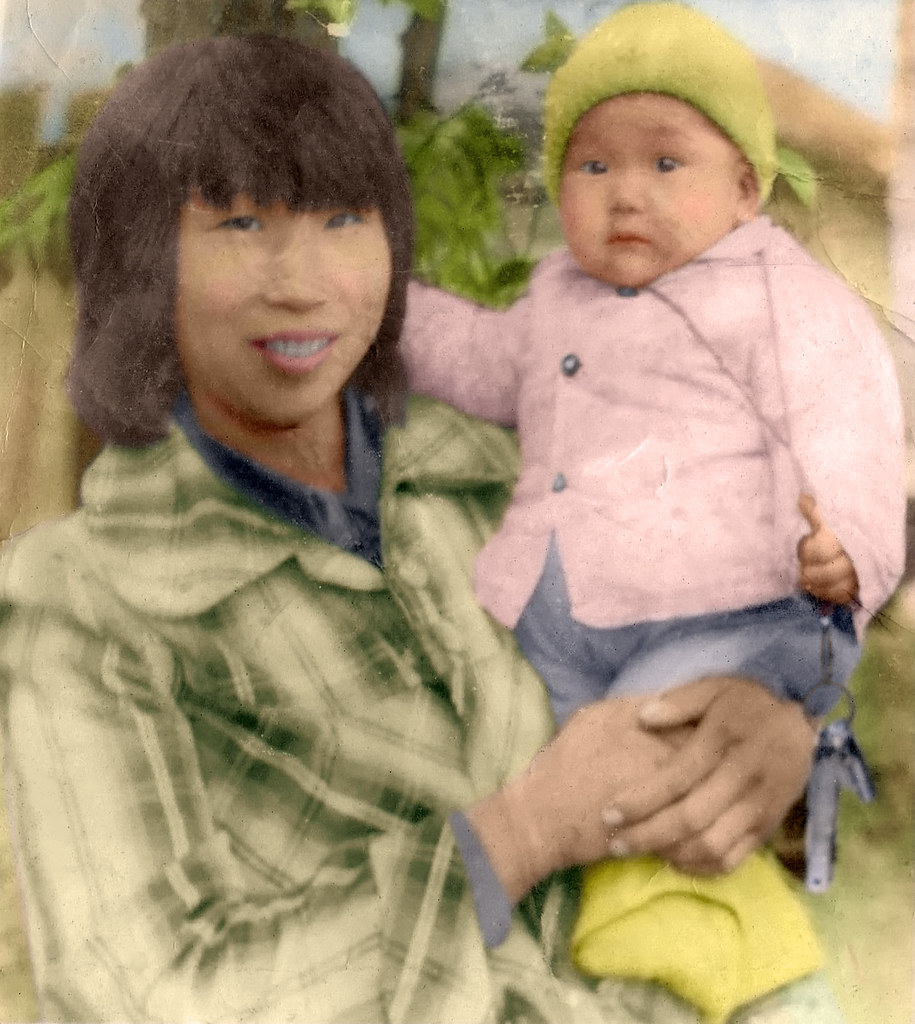 Re-Coloured Photo
