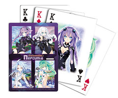 Hyperdimension Neptunia for PS3: Pre-order playing cards