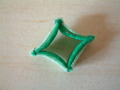 Free felt tutorial-Green pepper rings 04
