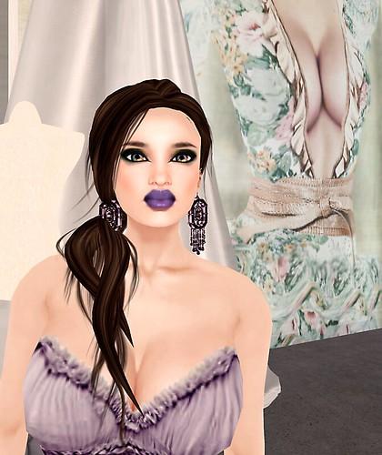 2b La Femme Baroque petite fille Lavande
