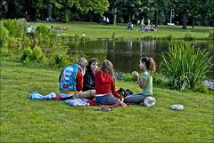 Vondelpark's happiness.  Amsterdam at Summer 2007. no.179 (Izakigur) Tags: summer holland netherlands amsterdam boats liberty boat canal nikon europa europe flickr feel nederland netherland prinsengracht kanal d200 nikkor mokum paysbas lepetitprince jordaan musictomyeyes nikond200 iloveamsterdam jordaanamsterdam izakigur izakigur2007 izakigurholland