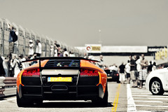 The Boss is Ready (Thomas van Rooij) Tags: summer cars car racecar photography amazing nikon track italia thomas awesome automotive super racing nikkor tamron 90mm circuit lamborghini zandvoort f28 supercar sv lambourghini pitlane murcielago lamborgini 18105 sportcar veloce d90 rooij superveloce lp6704 lp670 thomasvanrooij