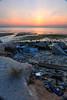 Low tide... (ChR!s H@rR!0t) Tags: sea sun sunrise sand rubbish penang mygearandmepremium