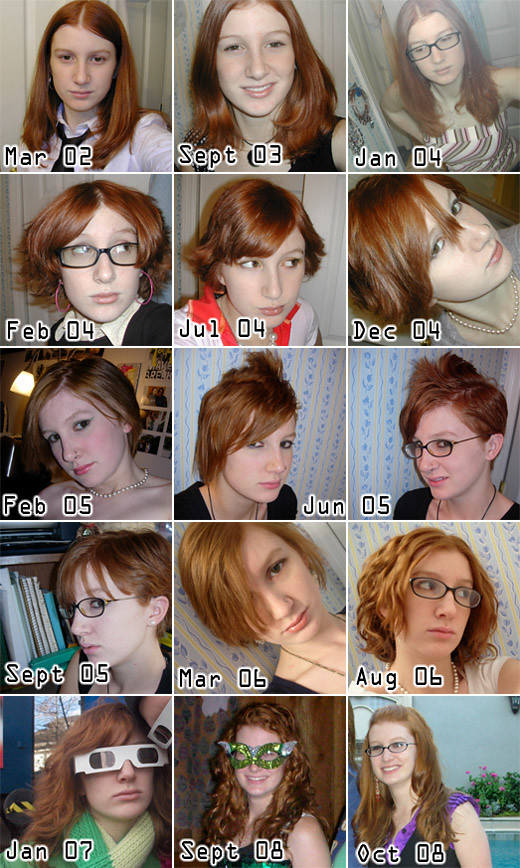 The Hairstyles of Jenni