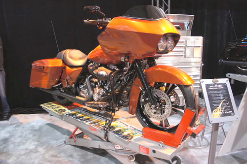 Harley-Davidson, Vancouver Motorcycle Show 2011, Tradex Exhibition Centre, Abbotsford, Colombie-Britannique