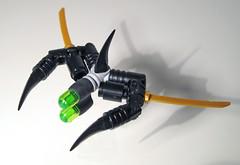 flickerwing (halfbeak) Tags: model lego bricks scifi moc microscale vicviper microspacetopia