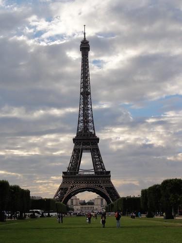 Ein Muss. Der Eiffelturm