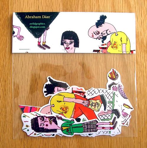 new sticker pack by abraham díaz