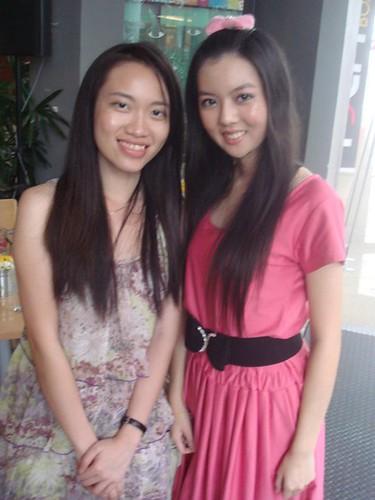 Xin Xian and Chee Li Kee