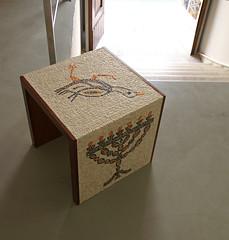 mosaic table for London (ari kokomosaico) Tags: mosaic mosaics mosaico mosaique mosaici mosaicart mosaictable mosaicschool mosaicworkshop artistictable tableinmosaic tavolinoinmosaico