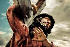 El peso de la cruz (Josepargil) Tags: cruz paso 7d cristo logroño nazareno semanasanta larioja cofradía cruzacuestas josepargil mygearandme cofradíasantacruz
