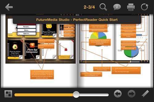 Perfect Reader iPhone/iPad App Screen Shot