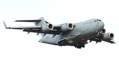 ZZ175 Boeing C-17A Globemaster 3 of 99 Squadron RAF. (David Russell UK) Tags: zz175 060205 boeing c17a c17 c 17 aircraft aeroplane airplane vehicle transport flying aviation cargo freight raf royal air force 99sqn 99 squadron mildenhall suffolk england uk military jet