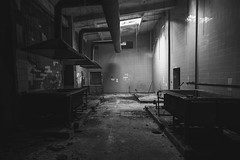 darkworld (stereotopie) Tags: urbanexploring urbex decay industrialdecay industrial verlassen stereotopie abandoned lost abandonedbeauty sight view dark industralarchitecture architecture lostplace blackandwhite bw schwarzweiss bnw
