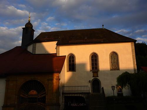 St. Marien im Abendlicht