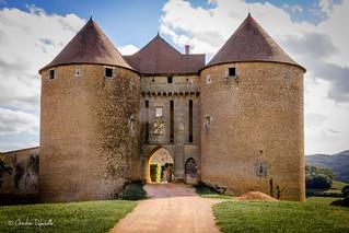 Entrée du Chateau de Berzé