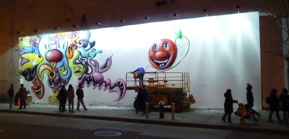 Kenny Scharf Friday Night