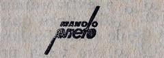 Firma de Manolo Prieto (obaku estudio) Tags: 1940 ilustración manoloprieto diseñográficoantiguo
