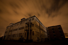colchester barracks (ant_43) Tags: road uk urban abandoned night canon dark clothing decay sigma explore textile flagstaff agency technical division exploration barracks 1020 derelict essex colchester defence scientific urbex 450d ant43