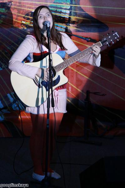 Полина на фестивале Горлица