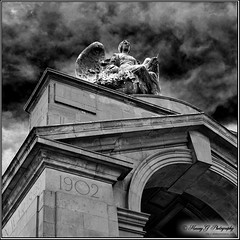 Boer War Memorial (1899-1902) (Through Harvey's Lens) Tags: camp english history statue museum architecture clouds boer southafrica concentration nikon memorial war african military south national doom despair genocide johannesburg rsa afrikaner anglo 1902 1899 d90 18991902 harveygphotography sigma50th photocommissioncom