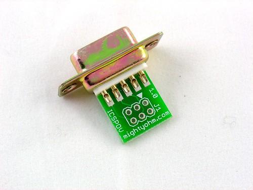DB9 ready to solder