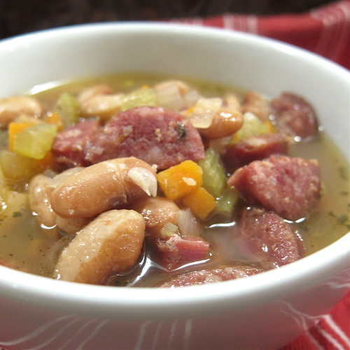 Sausage & Bean Soup